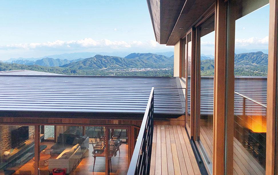 別荘からの眺望
